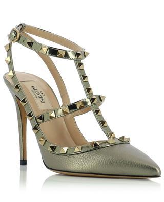 Rockstud studded leather high heels VALENTINO