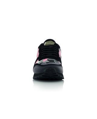 Sneakers aus Stoff, Wildleder und Leder Camouflage VALENTINO