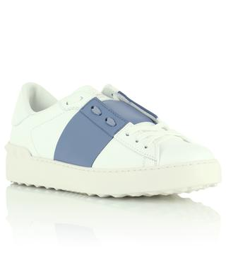 Open calfskin sneakers with contrasting band VALENTINO