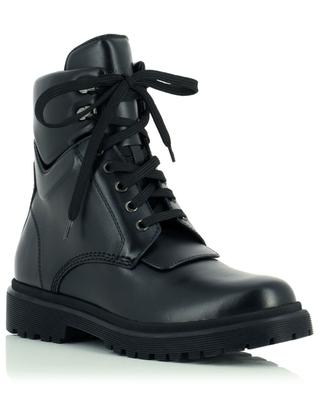 Patty lace-up smooth leather ankle boots MONCLER