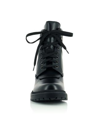 Bottines à lacets en cuir lisse Patty MONCLER