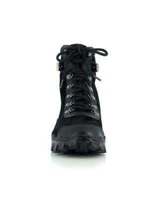Helis lace-up suede ankle boots MONCLER