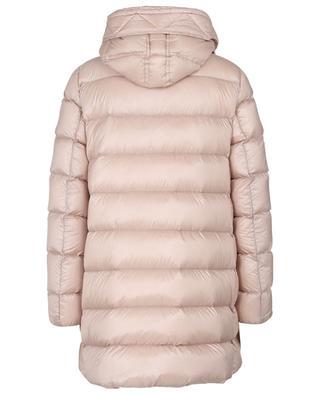 Suyen lightweight long A-line down jacket MONCLER