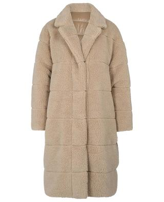 Bagaud long faux fur down jacket MONCLER