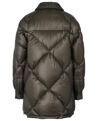 Doume quilted pea coat spirit down jacket MONCLER