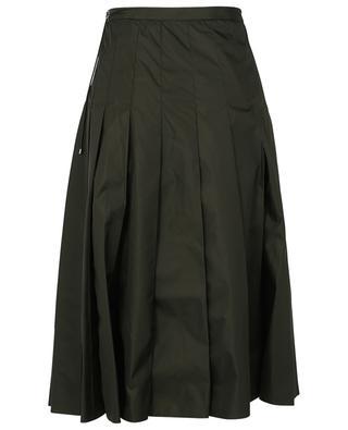 Pleated midi skirt in nylon MONCLER