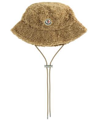 Faux fur bucket hat MONCLER