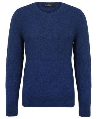 Langer Pullover aus Woll- und Yackmix A.P.C.