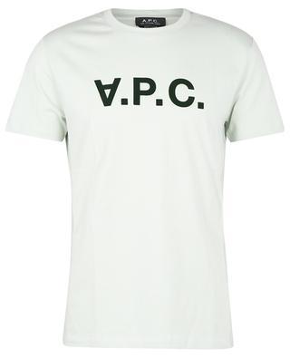 T-shirt à col rond motif floqué V.P.C. A.P.C.