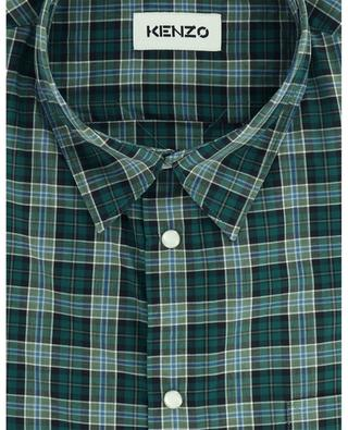 Kariertes Hemd aus Baumwolle KENZO