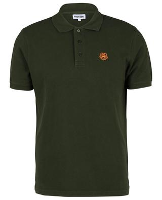 Tiger Crest short-sleeved organic cotton polo shirt KENZO