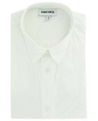 Long-sleeve cotton shirt with tiger head KENZO