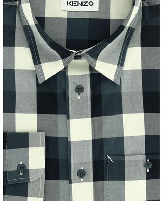 Chequered cotton shirt KENZO