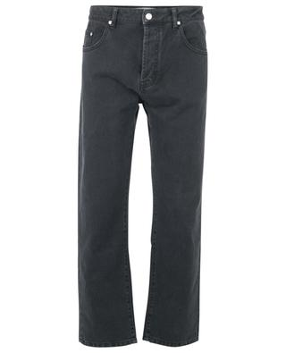 Black cropped tapered jeans KENZO