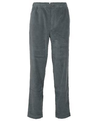 Pantalon droit en velours côtelé KENZO