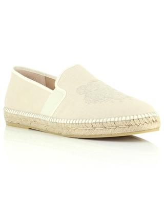 Tiger embroidered espadrilles KENZO