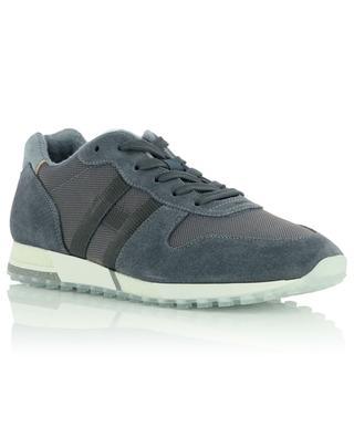 H482 piqué nylon and suede sneakers HOGAN