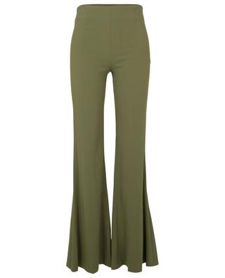 Olive - flared crepe trousers GALVAN LONDON