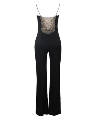 Spaghetti strap beaded jumpsuit GALVAN LONDON