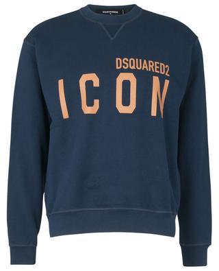 Sweat-shirt à col rond imprimé ICON Cool Fit DSQUARED2
