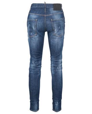 Slim-Fit-Jeans mit niedriger Taille Red Spot Broken Skater DSQUARED2