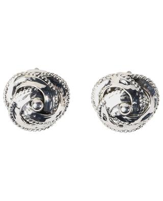 ART0275 silver-plated clip-on earrings POGGI