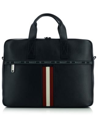 Porte-document en cuir motif Bally Stripe Hektor BALLY