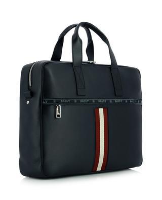 Hektor Bally Stripe adorned leather briefcase BALLY