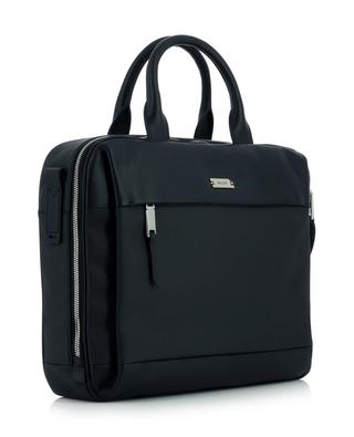Vaud canvas and leather briefcase BALLY