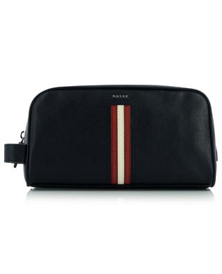 Takimo grained leather toiletry bag BALLY