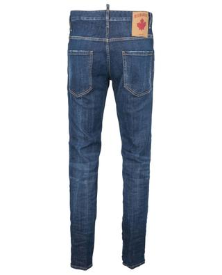 Zerrissene Slim-Fit-Hose mit niedriger Taille Skater Jean DSQUARED2
