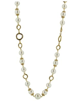 Long necklace with pearls POGGI