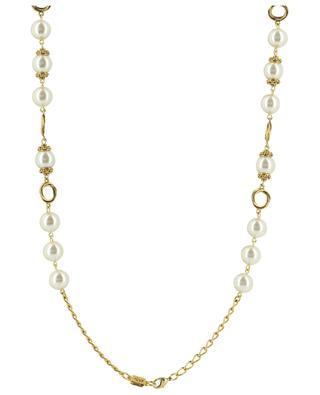 Lange Halskette mit Perlen POGGI