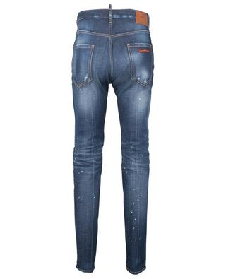 White Spots Broken Cool Guy slim-fit low rise jeans DSQUARED2