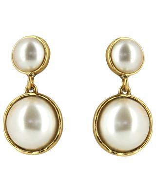 Ohrringe mit Perlen POGGI