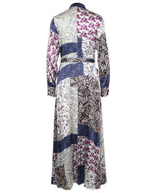 Robe chemise longue en soie imprimée Romantic FORTE FORTE