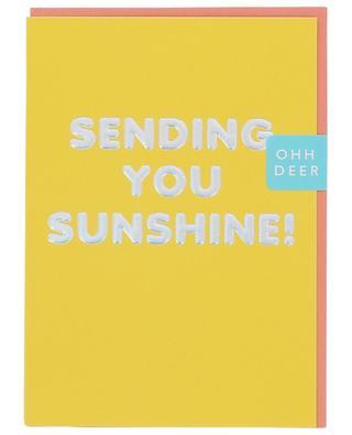 Sending you sunshine card OHH DEER
