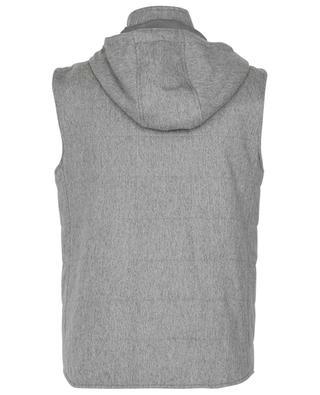 Hooded cashmere vest MAURIZIO BALDASSARI