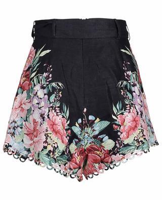 Bellitude floral linen shorts ZIMMERMANN