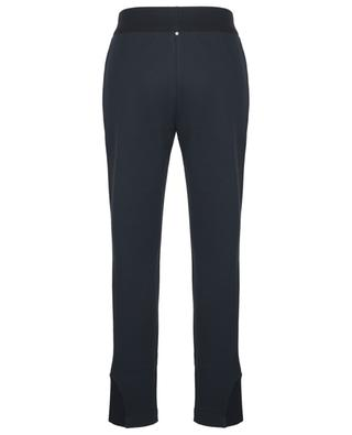 Sparkling star and knit adorned track trousers LORENA ANTONIAZZI