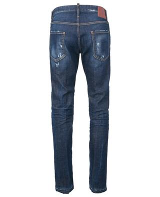 Caten Bros ripped and frayed slim fit jeans DSQUARED2