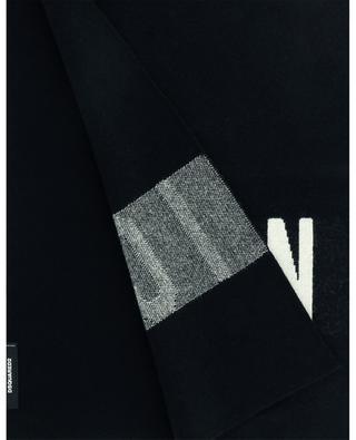 Icon-Schal aus Wollmix DSQUARED2