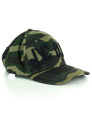 Camouflage cotton baseball cap DSQUARED2