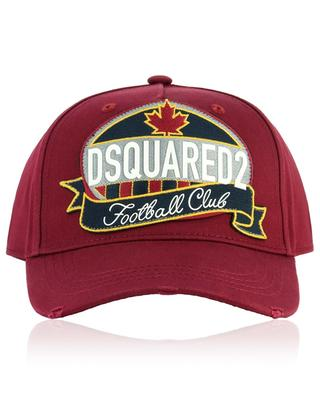 Logo patch cotton baseball cap DSQUARED2