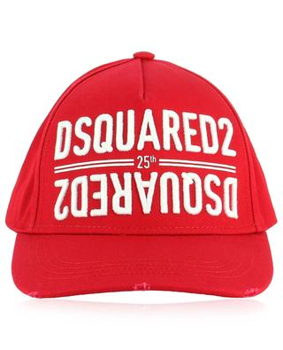 Cotton logo baseball cap DSQUARED2