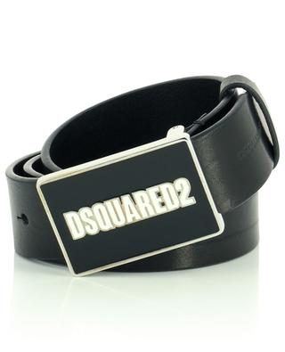 Leather belt with logo buckle DSQUARED2