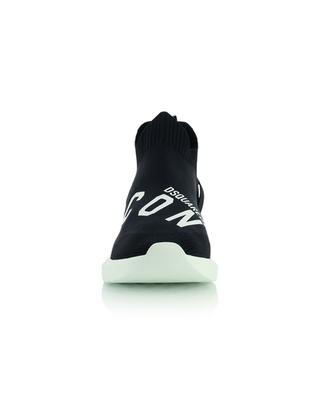 Slip-on-Strick-Sneakers mit ICON-Print Speedster DSQUARED2