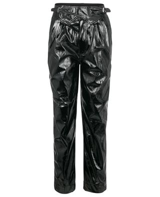 Wilde vegan leather carrot trousers ROTATE BIRGER CHRISTENSEN