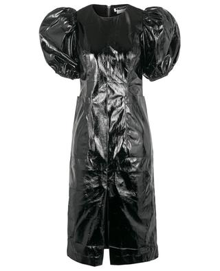 Kurzes schmales Kleid aus veganem Leder Katarina ROTATE BIRGER CHRISTENSEN