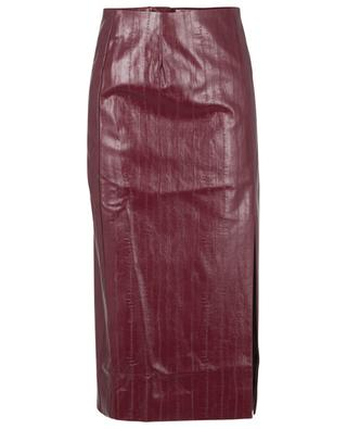London vegan leather pencil skirt ROTATE BIRGER CHRISTENSEN